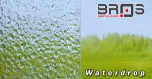 Bros ornament Waterdrop