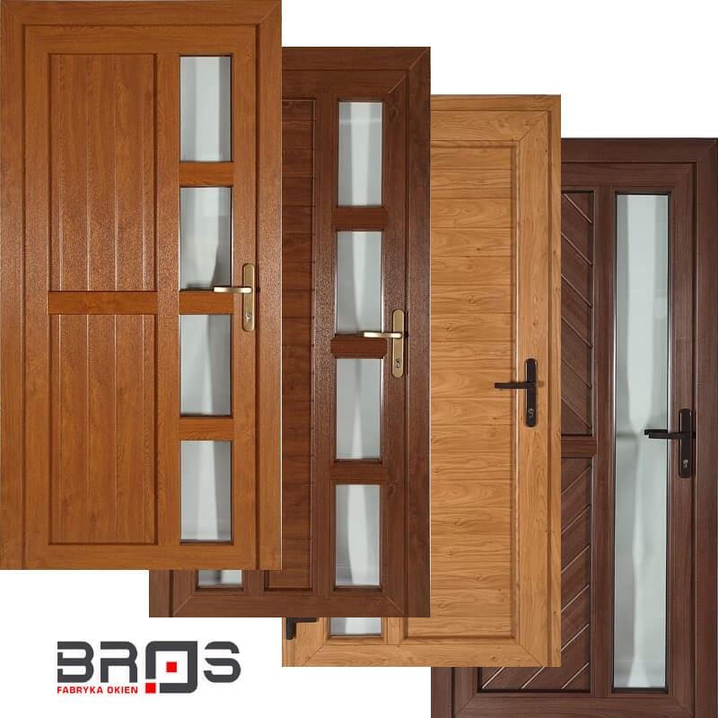 Genialny Drzwi zewnętrzne | Bros RL01