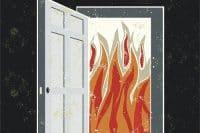 przeciwpożarowe drzwi