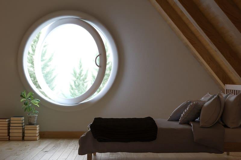 Z jakich materiałów najlepiej jest wykonywać okna o nietypowych kształtach?